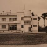 Renzo Zavanella, villa dei direttori dello zuccherificio Schiaffino a Sermide (Mantona, 1931-39), immagine d'epoca