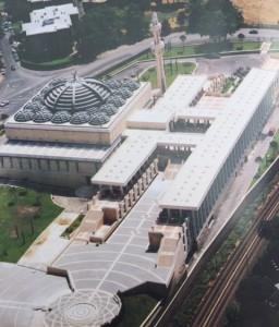Vittorio Gigliotti e Paolo Portoghesi, Moschea e Centro Islamico Culturale a Roma (1976-95)