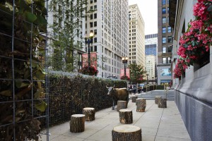 L'installazione di John Ronan Architects (foto di Steve Hall / Hedrich Blessing)