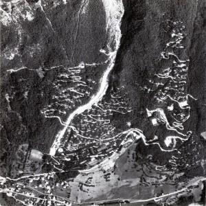 Foto aerea dell'insediamento (© Dolomiti Contemporanee)