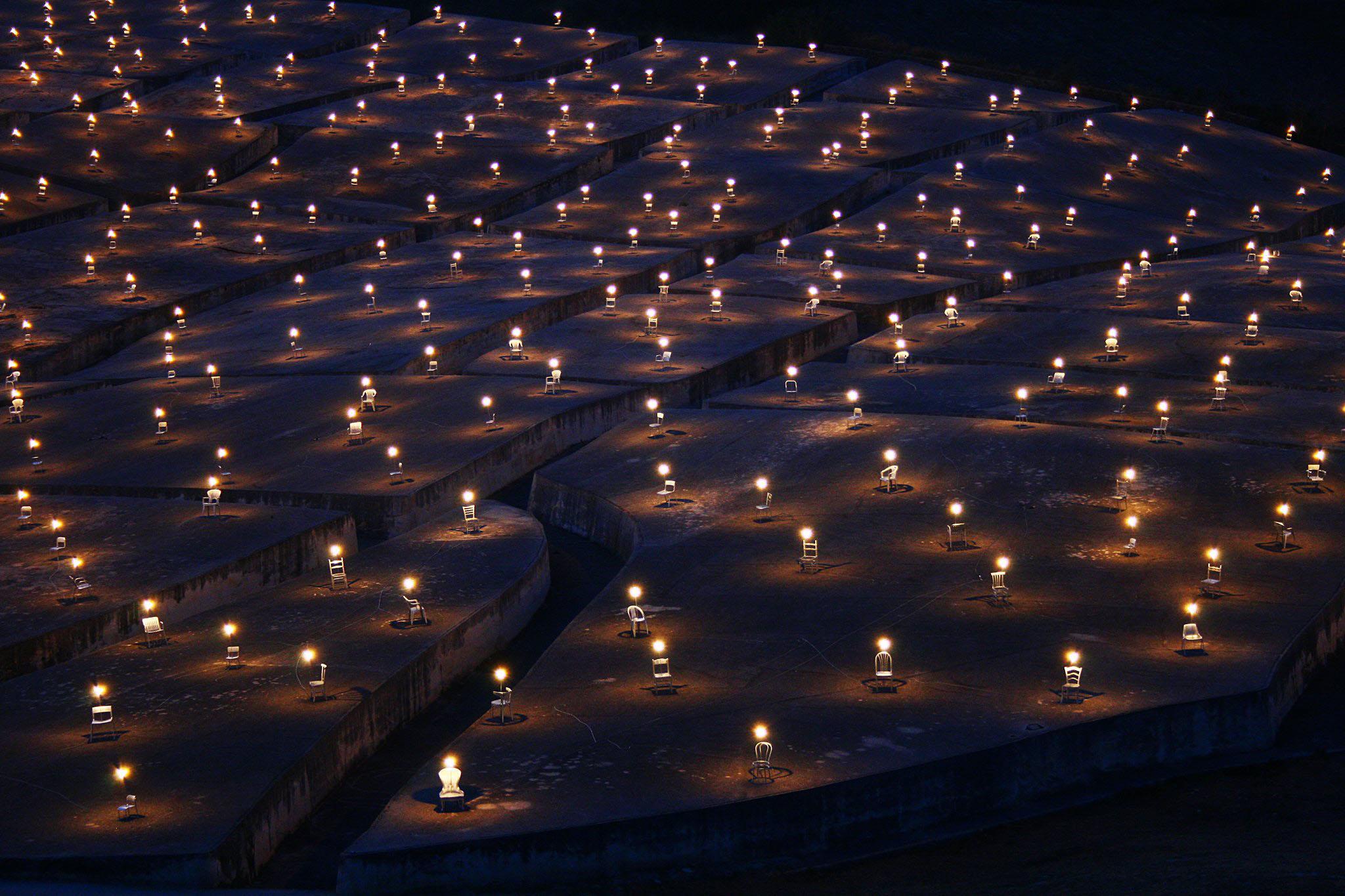 Mille lampade per Gibellina