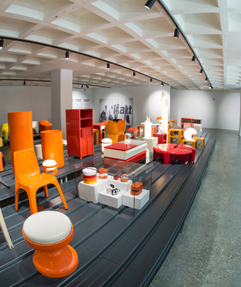 Lhoas & Lhoas, allestimento della collezione permanente dell'Atomium Museum Art & Design (Copyright : ADAM - Christophe Licoppe / Befocus)