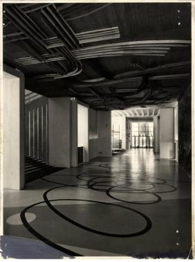 Triennale story x edizione 1954 giornale dell for Disegno del piano di soggiorno