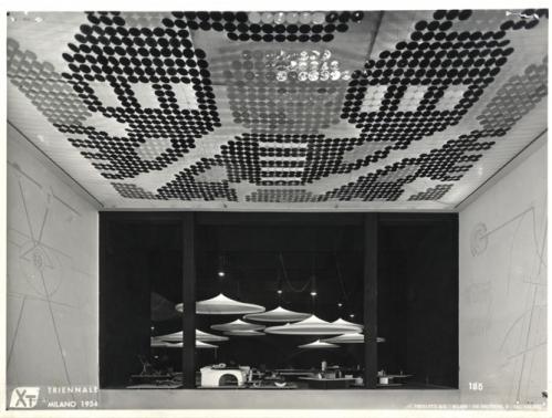 Triennale story x edizione 1954 giornale dell for Disegno del piano di architettura