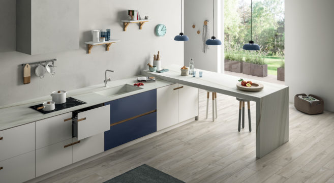 Iris ceramica group lancia sapienstone un nuovo brand per i top cucina giornale dell - Top cucina in ceramica ...