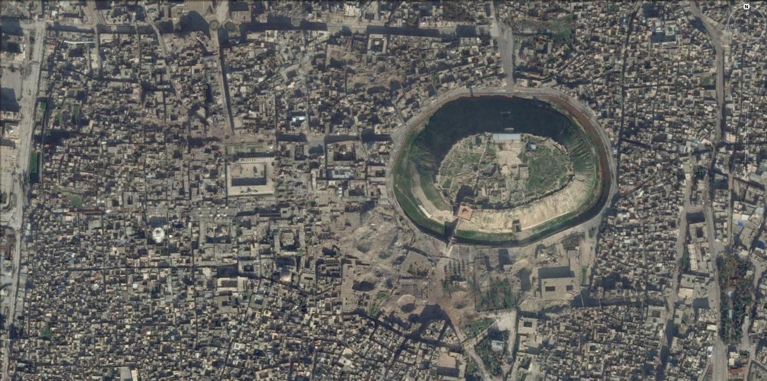 Aleppo una mappa per la ricostruzione giornale dell for Grande planimetria della camera singola storia