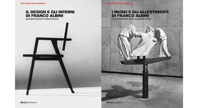 Due libri per rivivere i progetti di franco albini for Progetti design interni