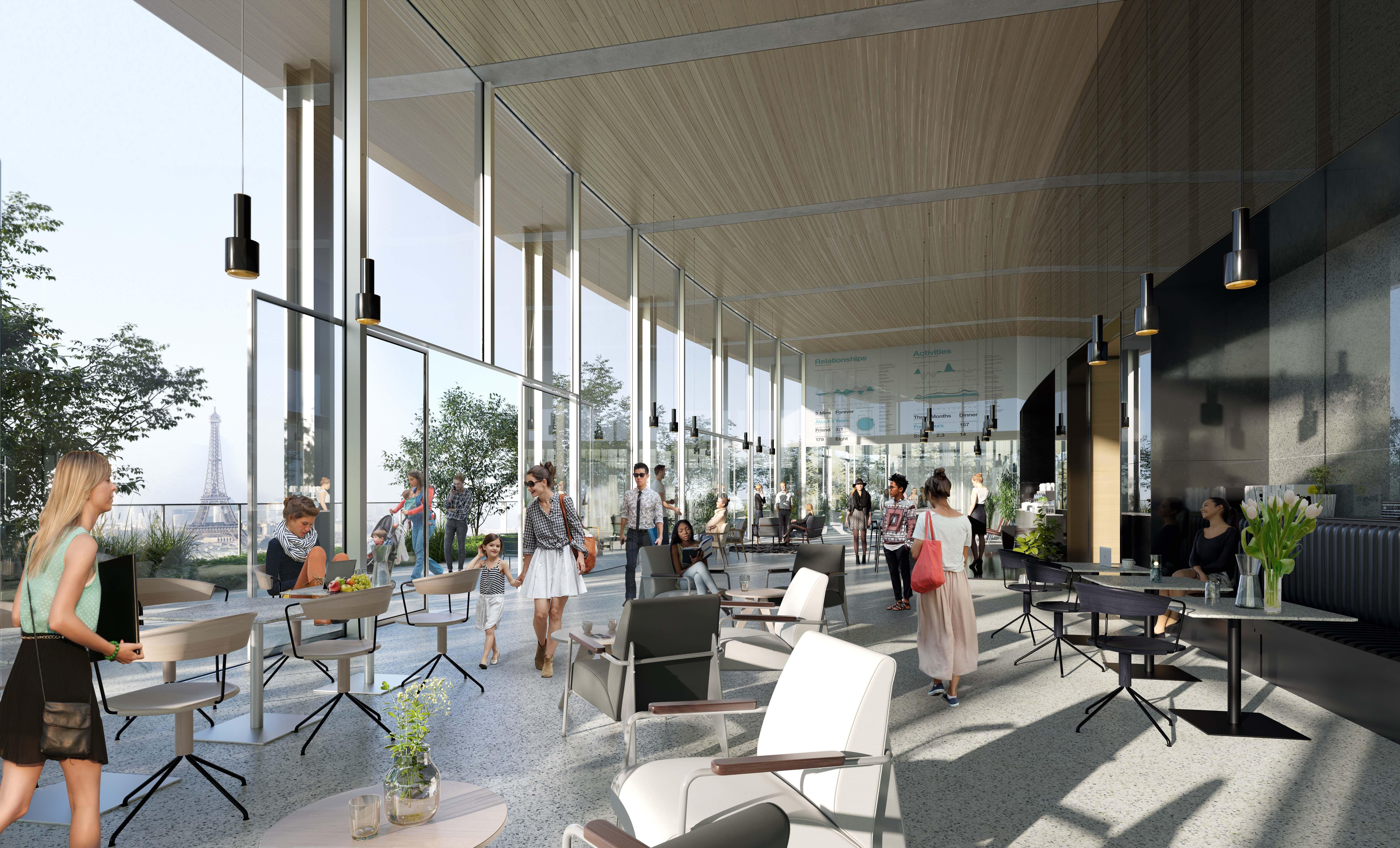 Montparnasse retour sur une tour parisienne giornale for Cafe du jardin london