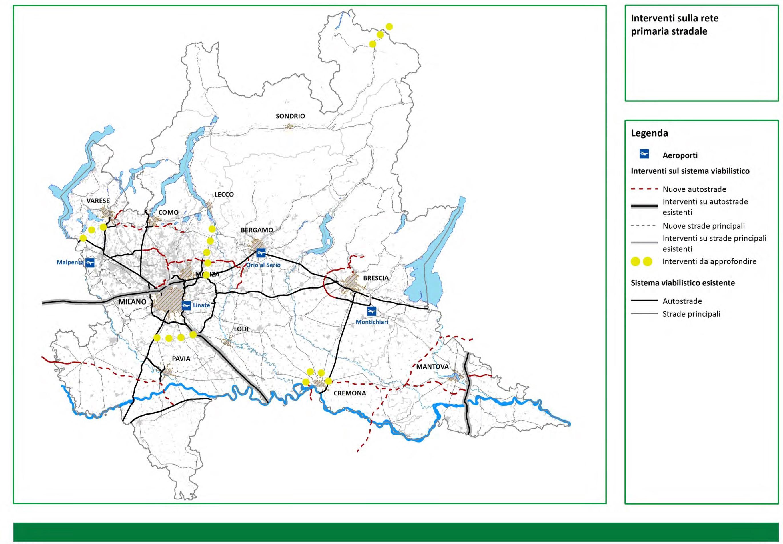Cartina Autostradale Della Lombardia.Infrastrutture In Lombardia Un Bilancio Tra Luci E Ombre Giornale Dell Architettura