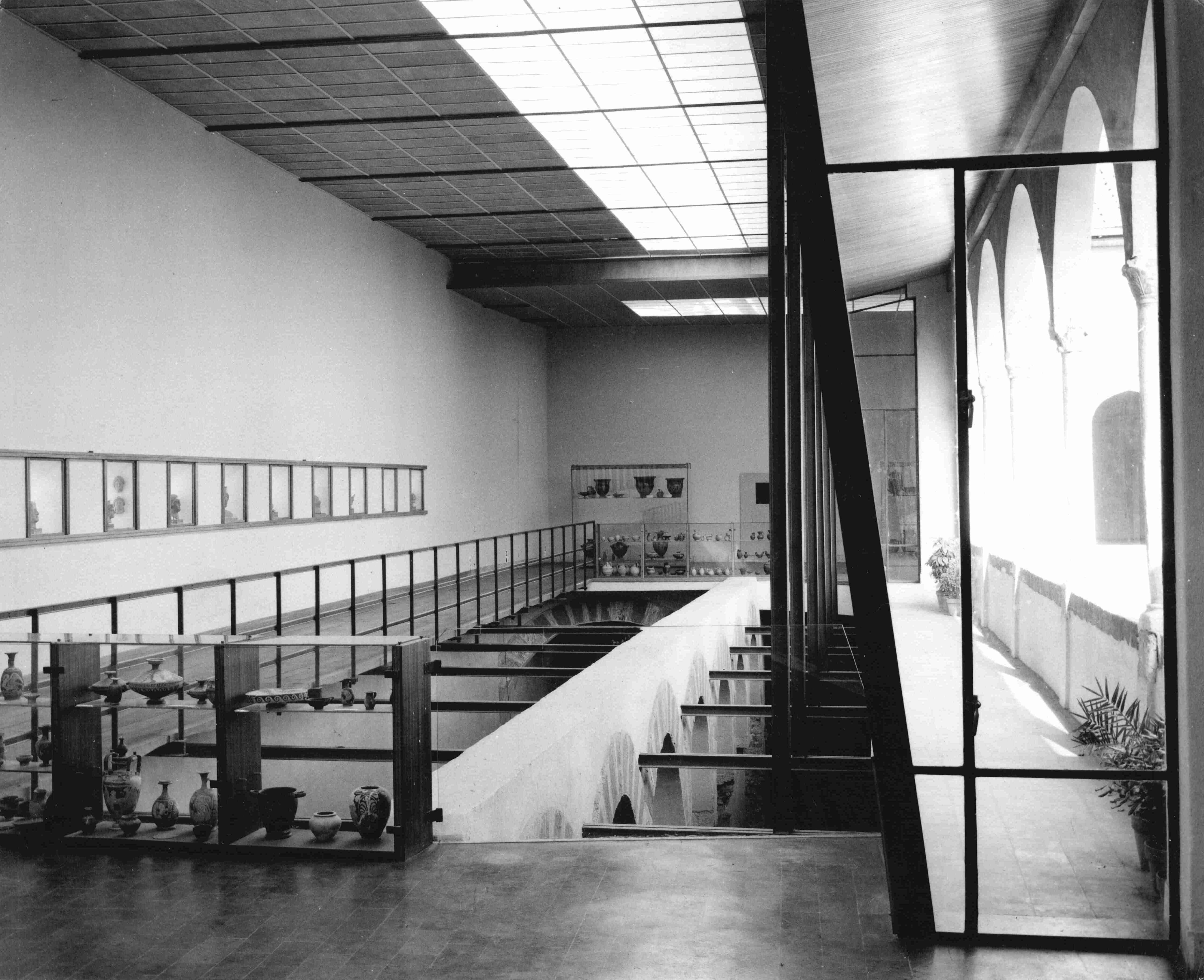 Save the exhibit al museo archeologico di ezio de felice for Studi di architettura napoli