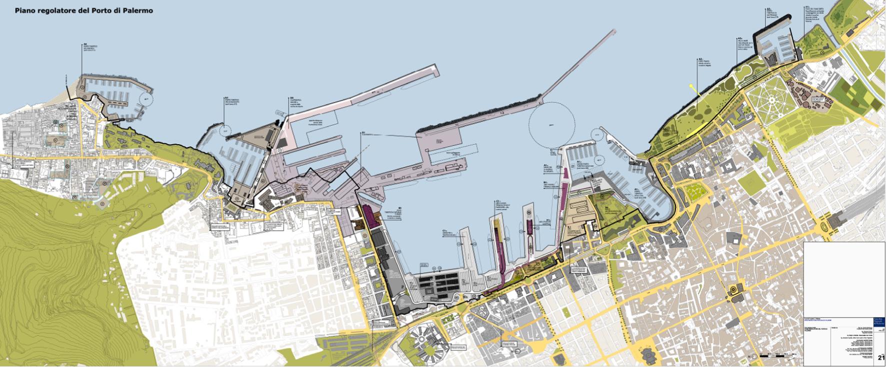 Ritratti di citt palermo e il mare due realt for Giornale architettura