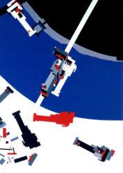 Malevich's Tektonik, Londra (1976-1977; © Zaha Hadid Architects)