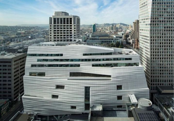 Snøhetta expansion of the new SFMOMA, 2016; photo: © Henrik Kam, courtesy SFMOMA