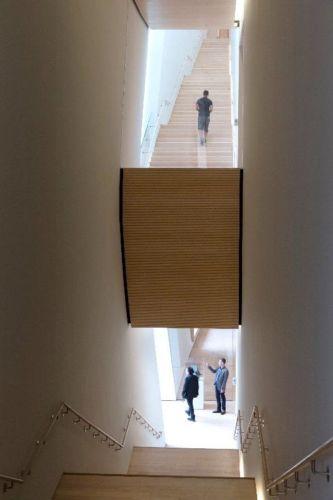 City Gallery stairs; photo: © Iwan Baan, courtesy SFMOMA
