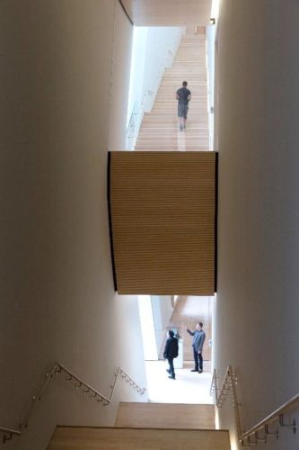 City Gallery stairs; photo: © Iwan Baan, courtesy SFMOMA