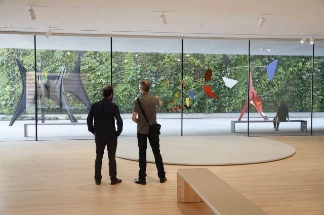 Alexander Calder: Motion Lab: The Fisher Collection exhibition at SFMOMA; photo: © Iwan Baan, courtesy SFMOMA