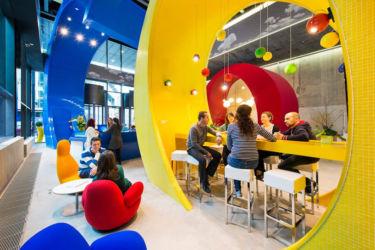 Interno degli uffici di Google