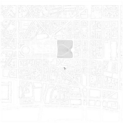 Canopée, master plan © Agence Patrick Berger et Jacques Anziutti architectes