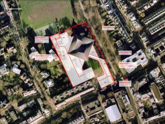 Holland Green: schema demolizioni e costruzioni (©OMA)