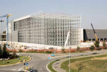 Nuovo magazzino automatico Pedrali in costruzione (© Filippo Romano)