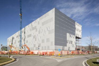 Nuovo magazzino automatico Pedrali, costruzione (© Filippo Romano)