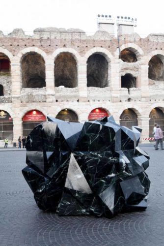 Gothic Heart, Designed by dolphins // communication design, STONE GROUP INTERNATIONAL (Piazza Bra)