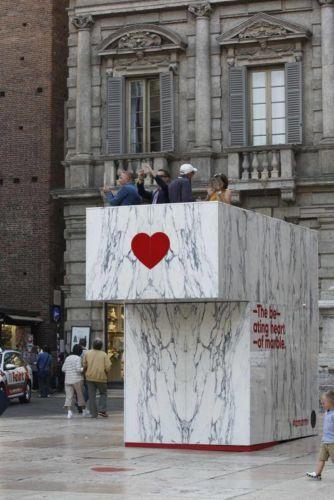 Amarmi, Designed by Michele Boldi, BARSI MARMI (Piazza Erbe)