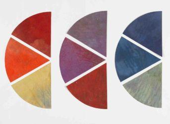 Wassily Kandinsky, « Neuf éléments de cercle chromatique », 1922-1933