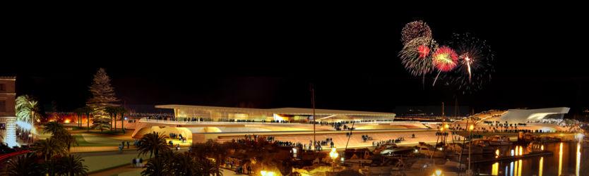 Progetto per la riqualificazione del lungomare e nuovo centro per servizi turistici a Milazzo (Messina, 2010)