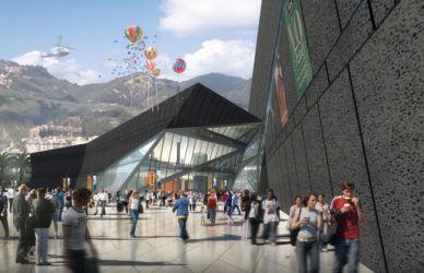 Progetto per i waterfront di Messina: dettaglio del centro polifunzionale