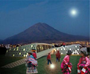 """Progetto per la """"Universidad de la vida y de la paz"""", Arequipa (Perù, 2010)"""
