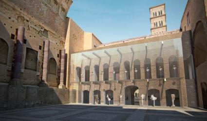 """Museo del Foro """"Antiquarium"""" a Roma (© Mario Bellini Archive)"""