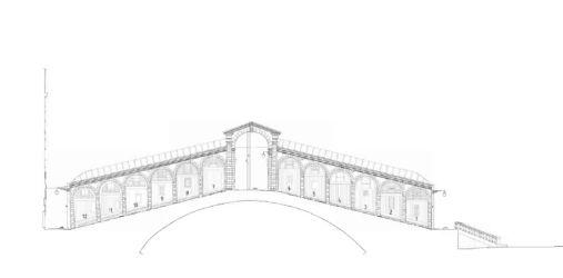 Prospetto Nord laterale