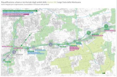 Milano: Welfare metropolitano e rigenerazione urbana, riqualificazione lungo le stazioni della linea M2