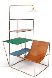 Muller Van Severen, « Installation », 2012 Cuir laiton propylène © Musée des Arts décoratifs, Paris, Jean Tholance
