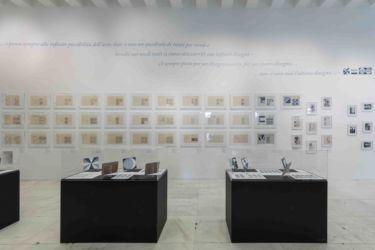 L'allestimento della mostra alla Triennale (© Gianluca Di Ioia - La Triennale)