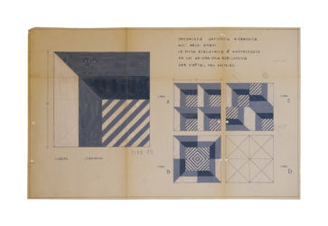 Disegno Gio Ponti (Decoro tipo 13)