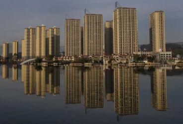 Un nuovo complesso residenziale in Kunming, Cina, 2016 (Fonte: ibtimes.com)