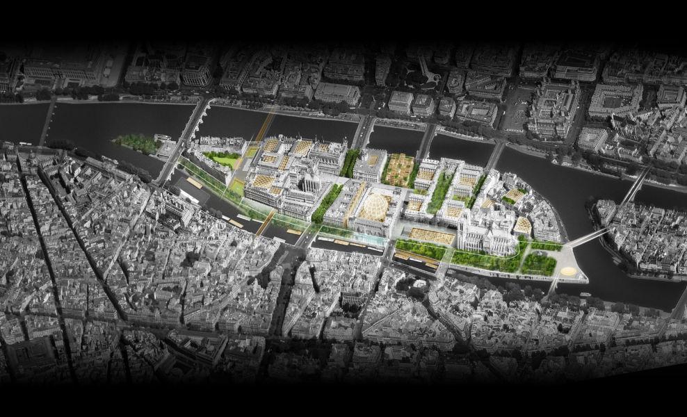 Vista generale (© Dominique Perrault Architecture DPA-ADAGP)