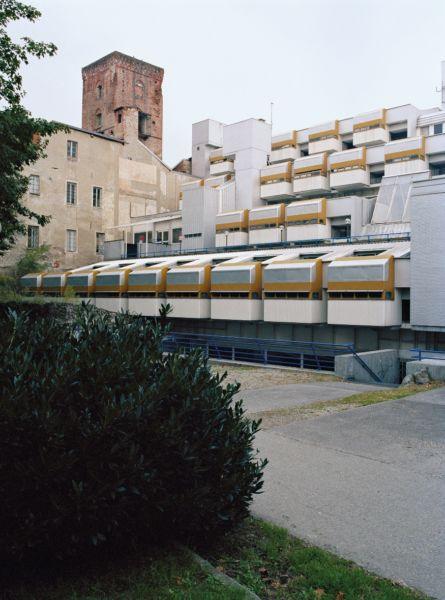Iginio Cappai, Pietro Mainardis. Olivetti Hotel, Ivrea, 1967–75 © Werner Feiersinger