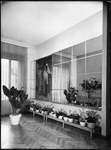 Arredamento di casa Levi-Broglio, Milano 1937-39, anticamera