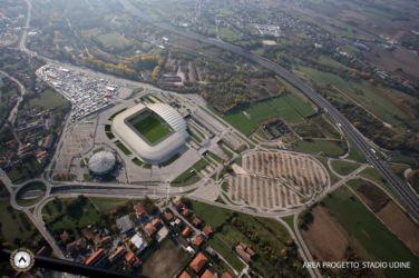 Il progetto del Dacia Arena Friuli a Udine