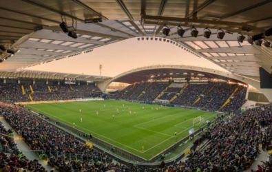 Il Dacia Arena Friuli a Udine oggi