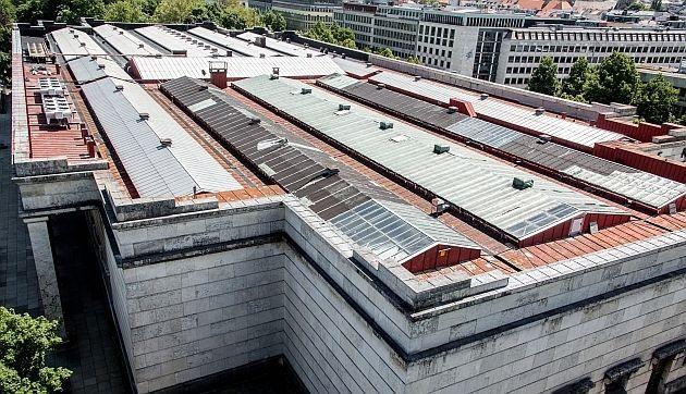HdK Dach © Maximilian Geuter