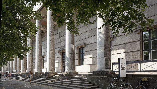 HdK Haupteingang © Ute Zscharnt für David Chipperfield Architects