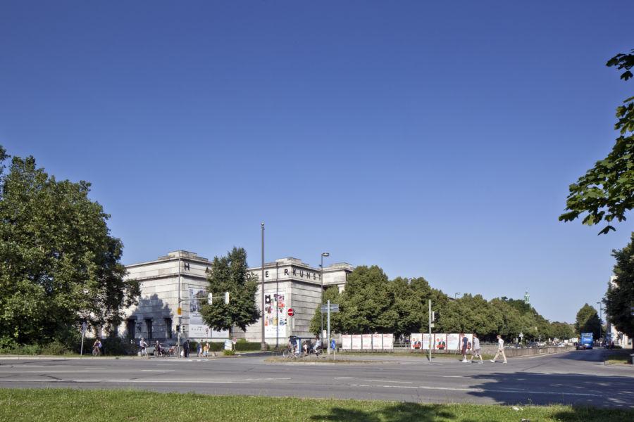HdK Haus der Kunst oggi