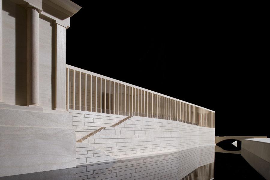 James Simon Galerie, Kupferkanal e Pergamon Museum © David Chipperfield Architects