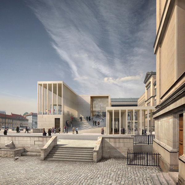 James Simon Galerie © David Chipperfield Architects