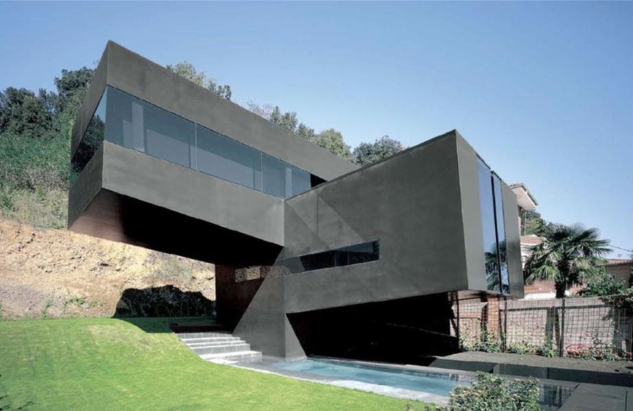 Casa per il carpentiere a Olot, 2007 (© Hisao Suzuki)