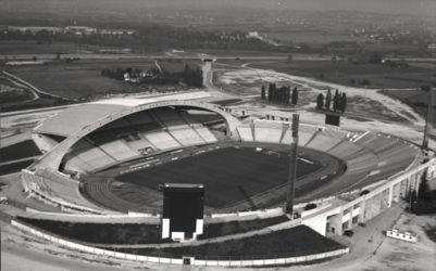Lo stadio Friuli di Udine nel suo assetto originario